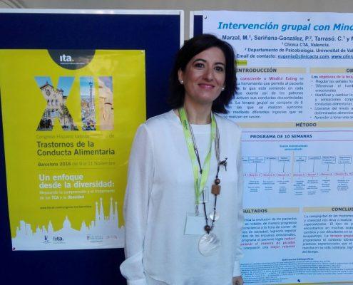 Intervención en el XII Congreso Hispano Latinoamericano de Transtornos de la Conducta Alimentaria