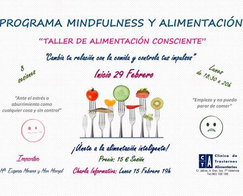 Alimentación Consciente, del Taller de Mindful Eating
