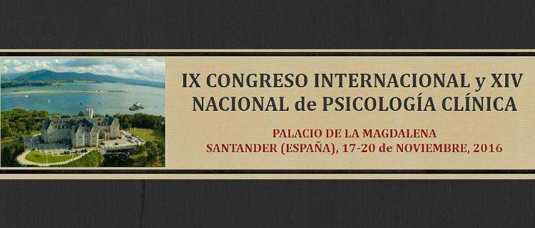 Congreso Psicología Clínica Santander 2016